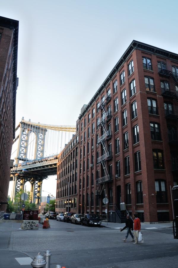Como y desde donde hacer la famosa foto del puente de Brooklyn en NYC.