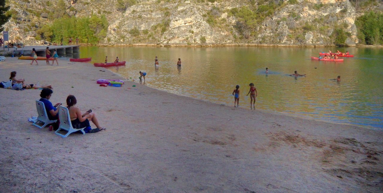 playas en rios espana