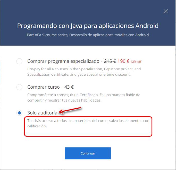 cursos gratis android