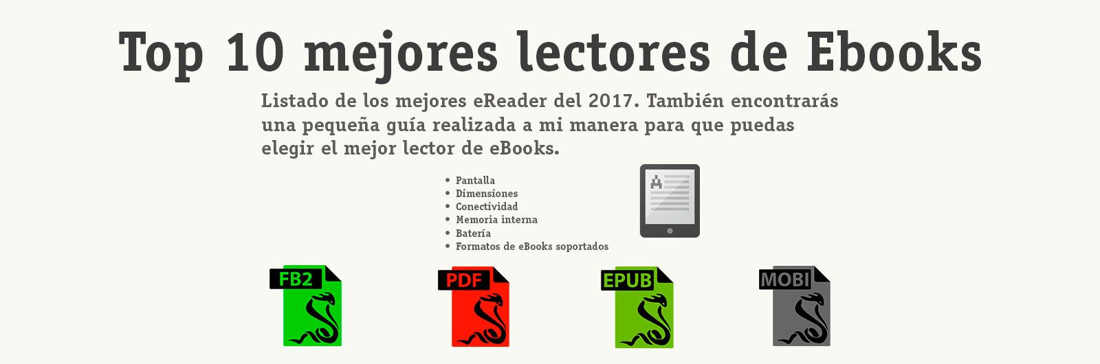 mejores-lectores-de-eBooks-2017-ESPAÑA