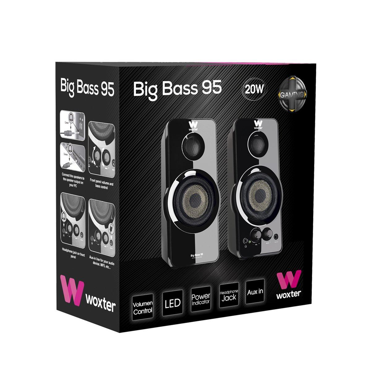 Análisis Woxter Big Bass 95 20W