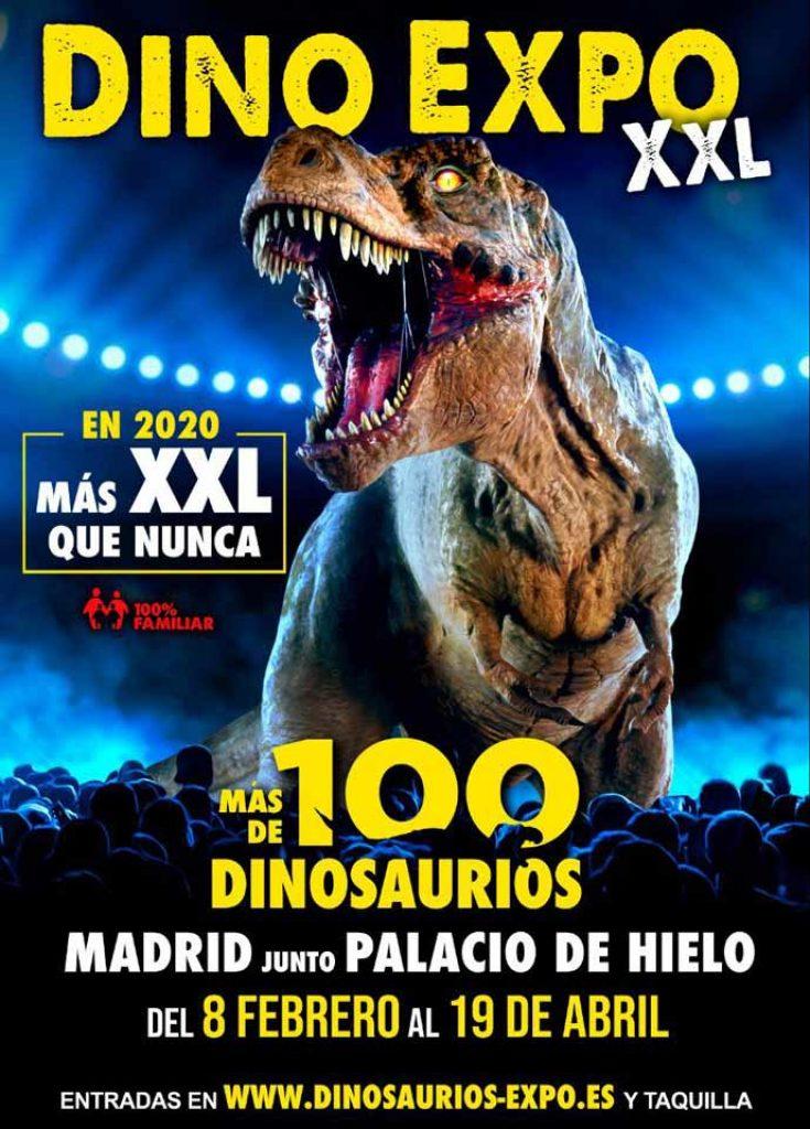 Dinosaurios-expo-Madrid
